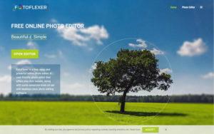 無料画像編集ソフトFotoFlexer最新版 インストール不要の写真加工ツール